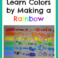 Learn Colors - Make a Rainbow