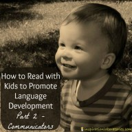 How to Read with Kids to Promote Language Development - Part 2