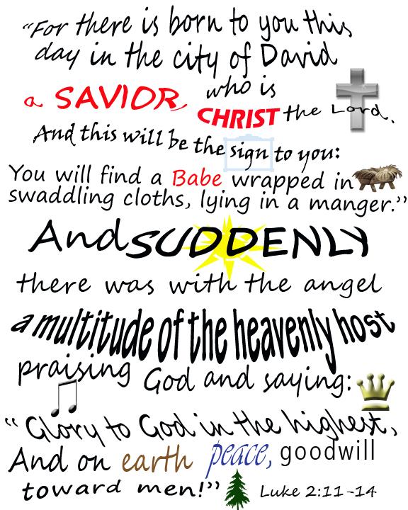 Inspirational Christmas Bible Quotes. QuotesGram