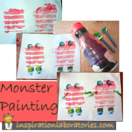 Painting Monsters: The End Result of Process Oriented Art
