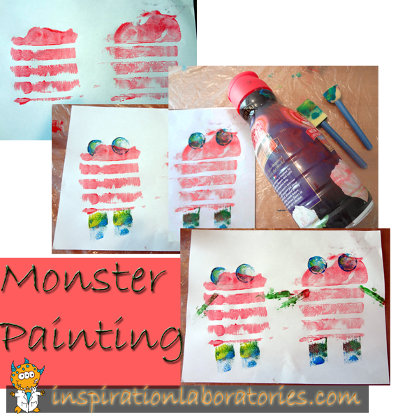 monster painting