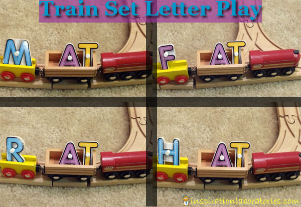 Use a train set to learn through play