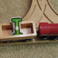 Train Set Letter Play