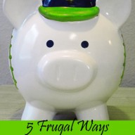 5 Frugal Ways to Go Green
