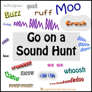 Go On A Sound Hunt Inspired by Mr. Brown Can Moo by Dr. Seuss