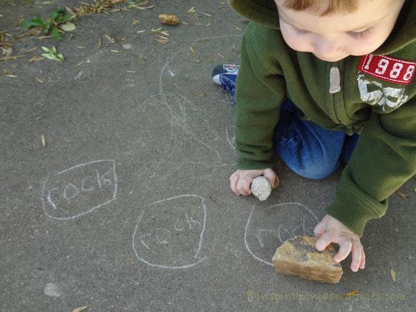 rock tracing