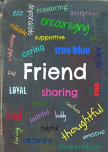 What is a Friend? printable