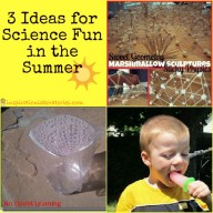 The Sunday Showcase Featuring Summer Science Fun