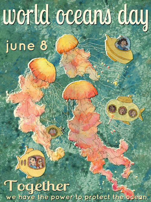 World Oceans Day June 8th