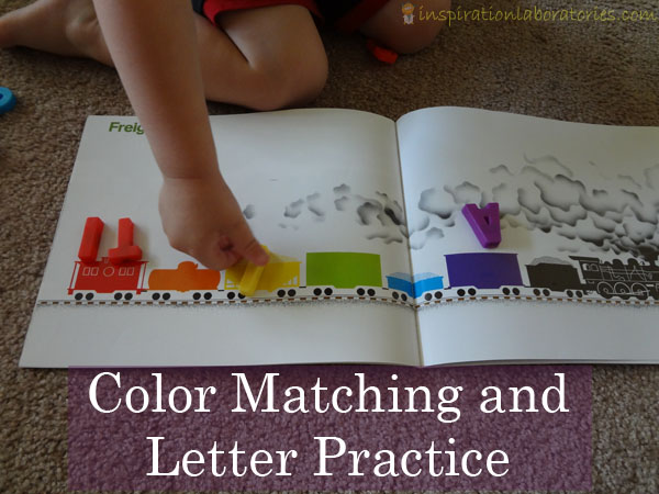 Color Matching and Letter Practice