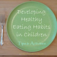 Developing Healthy Eating Habits in Children