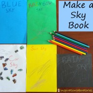 Make a Sky Book {Summer Virtual Book Club}