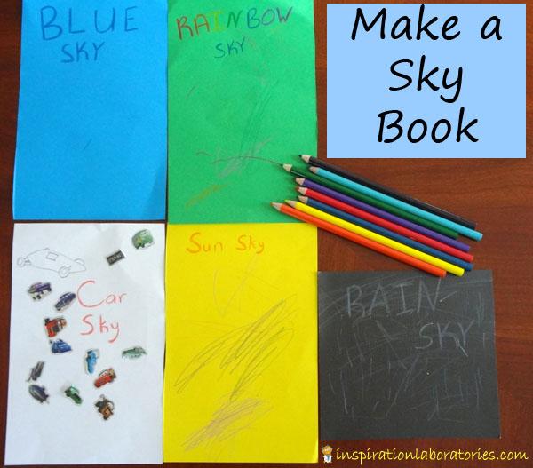 make a sky book