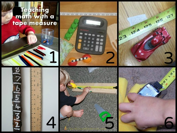 practice using a tape measure