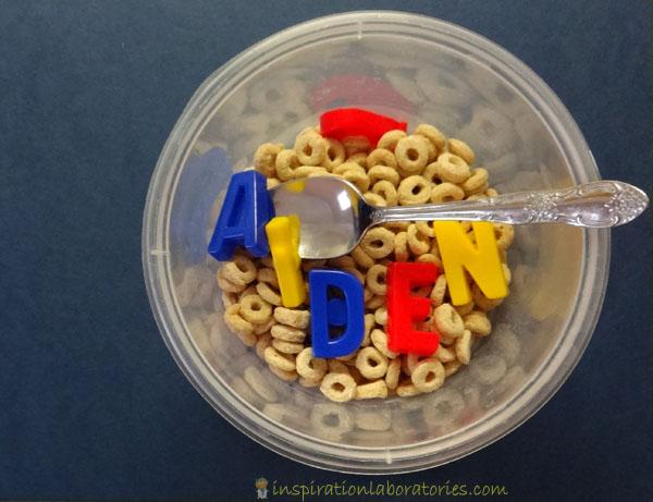 alphabet cereal
