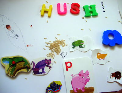 Hush Storytelling Board