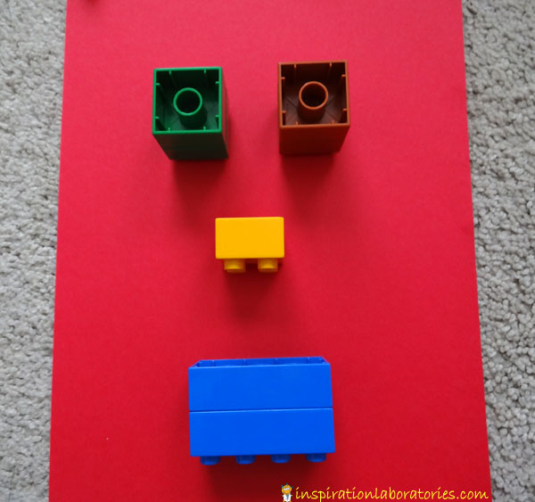 Quick Play Idea: Make Lego Faces