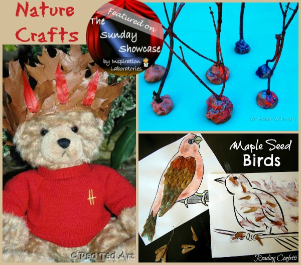 Nature Crafts featured at Inspiration Laboratories