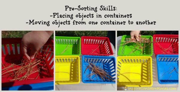 pre-sorting skills