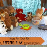 Guest Post at Cachey Mama's Classroom: Pretend Play