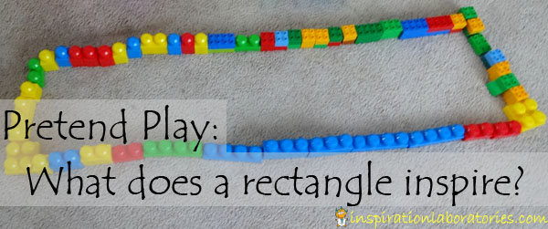 What play does a rectangle inspire?