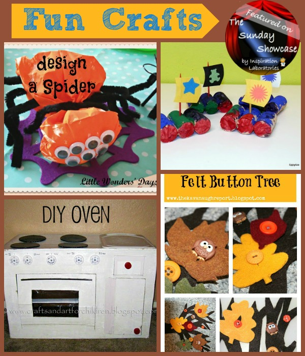 Fun Crafts Featured at Inspiration Laboratories