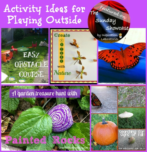 Activity Ideas for Playing Outside