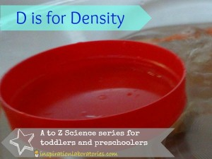 A to Z Science: D is for Density