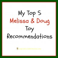 My Top 5 Melissa & Doug Toy Recommendations