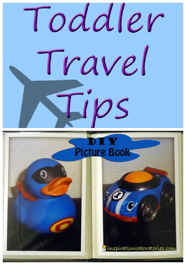 Toddler Travel Tips & DIY Picture Book