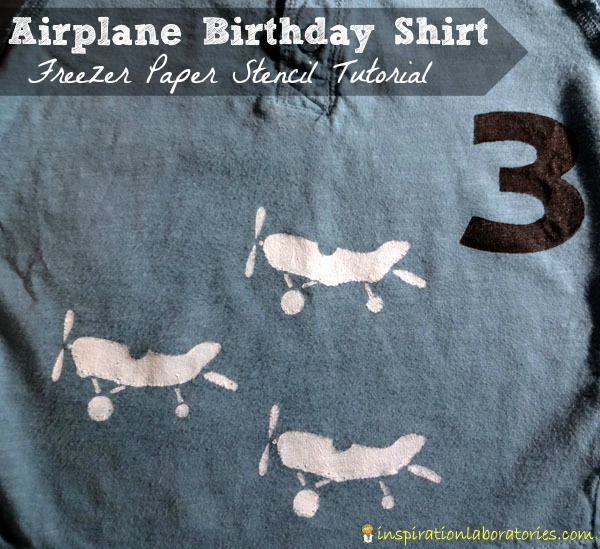 Airplane Birthday Shirt
