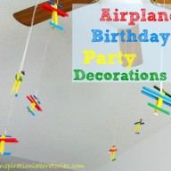 Airplane Birthday Party Decorations