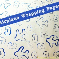 Airplane Birthday Wrapping Paper