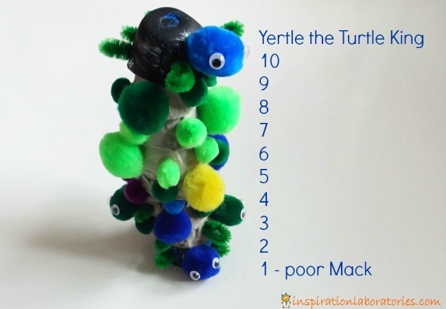Counting Turtles with Yertle the Turtle by Dr. Seuss