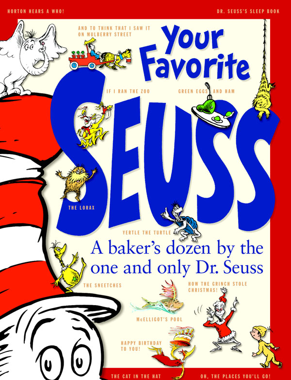 Dr. Seuss is February's featured author for the Virtual Book Club for Kids
