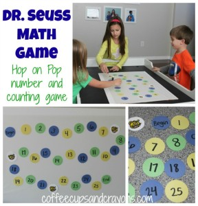Hop on Pop Counting Board Game