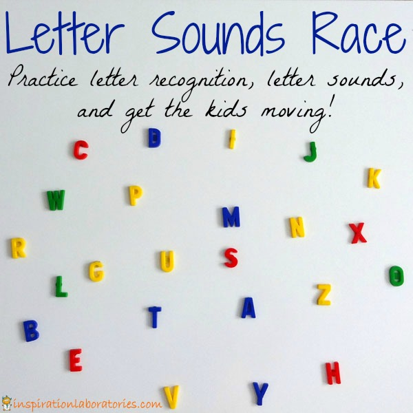 Letter Sounds Race | Inspiration Laboratories