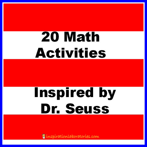 math worksheet : 20 math activities inspired by dr seuss  inspiration laboratories : Dr Seuss Worksheets For Kindergarten
