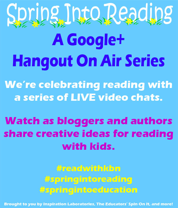 Spring Into Reading Google+ Hangout Series
