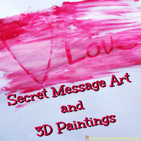Secret Message Art