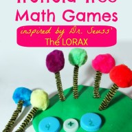 Truffula Tree Math Games Inspired by Dr. Seuss' The Lorax