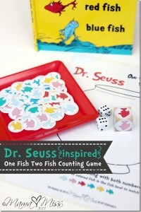 One Fish Two Fish Counting Game from Mama Miss