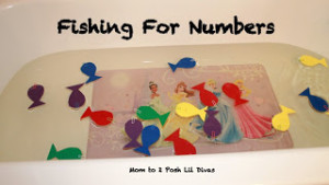 Fishing for Numbers from Mom to 2 Posh Lil Divas