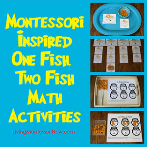 Montessori Inspired One Fish Two Fish Math