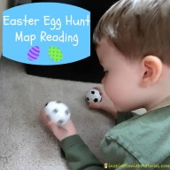 Easter Egg Hunt Map Reading