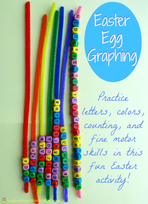 Easter Activities: Easter Egg Graphing with Letters