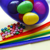 Easter Activities: Egg Graphing, Letters, Fine Motor Practice...