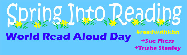 World Read Aloud Day Google+ Hangout with author Sue Fliess