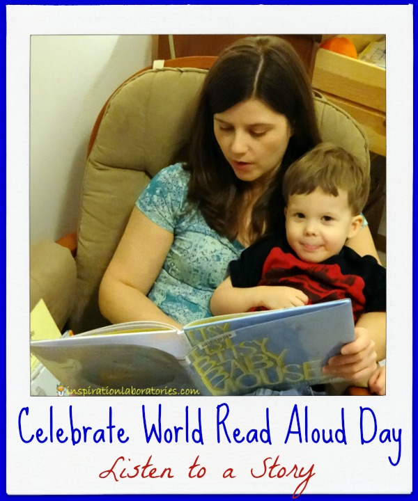 Ways to Celebrate World Read Aloud Day