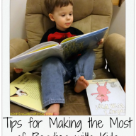 Tips for Making the Most of Reading with Kids